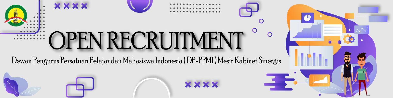 Ayo Daftar! Open Recruitment DP PPMI Mesir Kabinet Sinergis