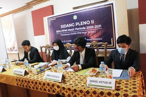 Mematuhi Protokol Covid-19 Sidang Pleno II Dilaksanakan Semi-Online