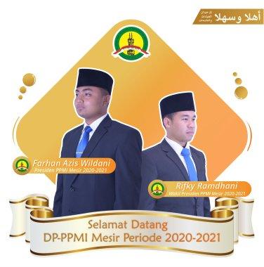 Presiden & Wakil Presiden PPMI Mesir