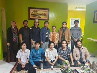 Kunjungan ke Mantan Aktivis Masisir; Ihsan Zainuddin Sampaikan Pandangan terhadap Jurnalistik Masisir
