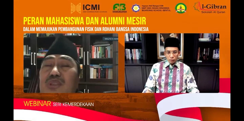 Peran Mahasiswa dan Alumni Mesir, Pemuda Penerus Tongkat Estafet Kemajuan Indonesia