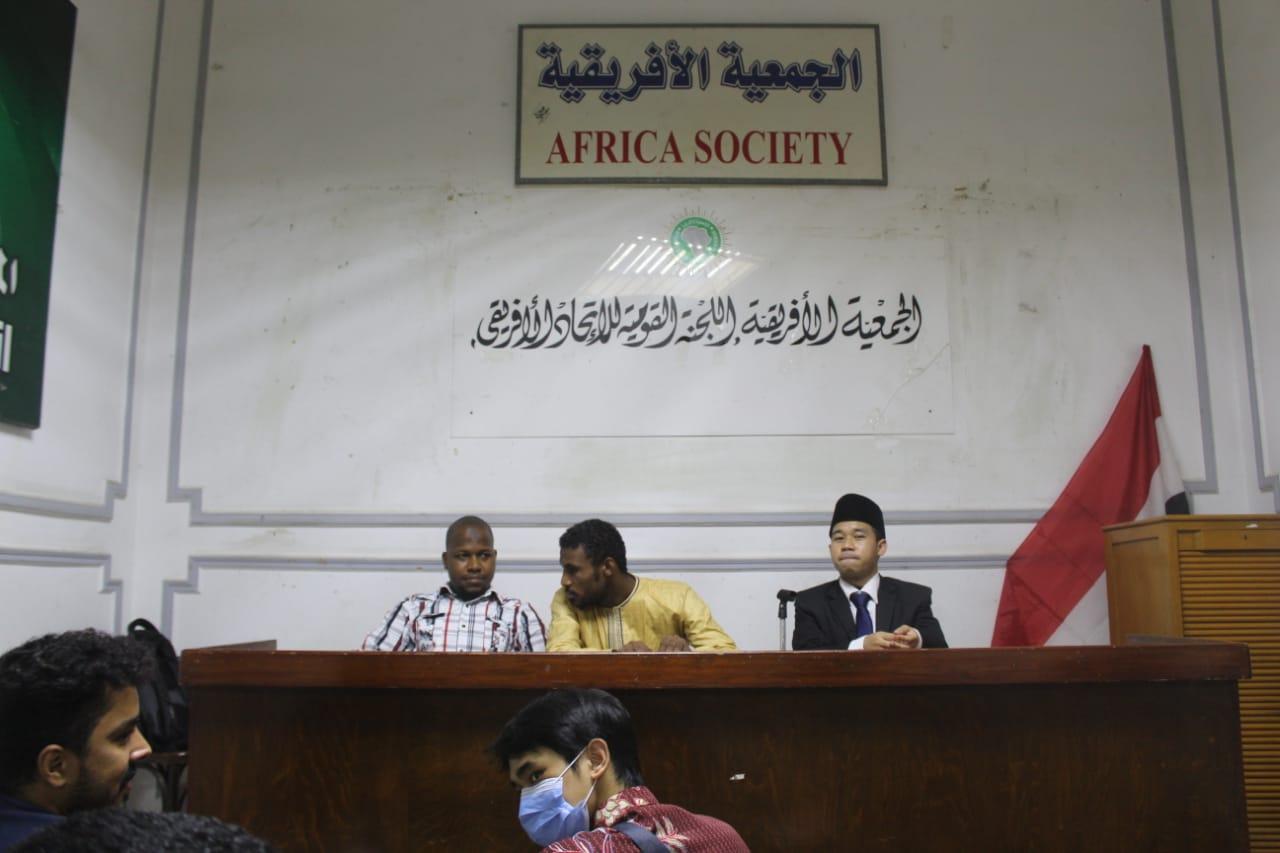 Kunjungan Diplomasi PPMI dengan Persatuan Pelajar Afrika