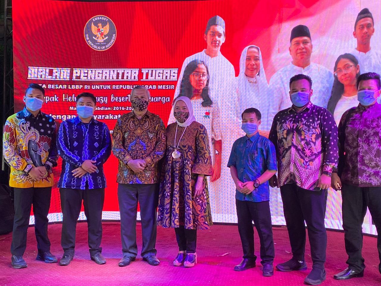 Pesan Dubes di Malam Pengantar Tugas: Masa Depan Indonesia di Tangan Anda
