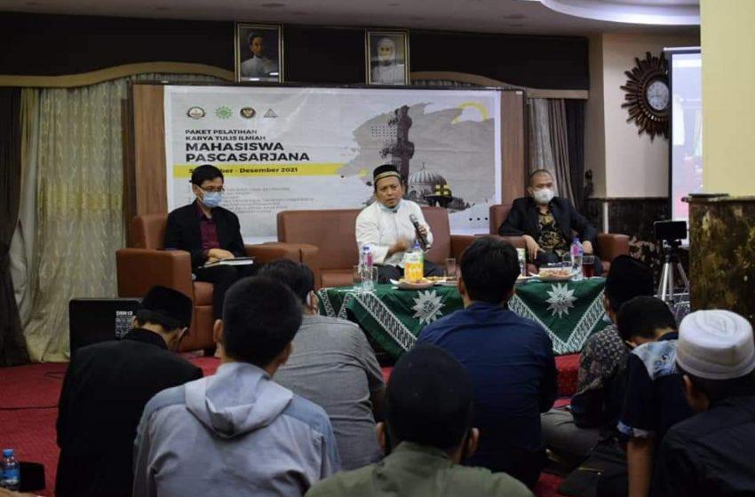 Bedah Disertasi Dr. Aep Saepullah S.A.g, M.A. Tebarkan Inspirasi Akademis di Kalangan Masisir
